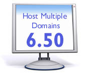 Host Multiple Domains $6.50